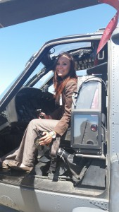 Angelica Quirarte at Moffett Federal Airfield