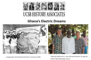 """flyer for History Associates to Feature """"Electric"""" Presentation by Prof. Stephan Miescher"""