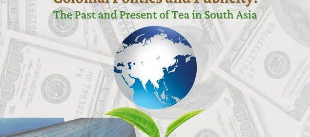 Flyer for Global Capitalism Tea Webinar