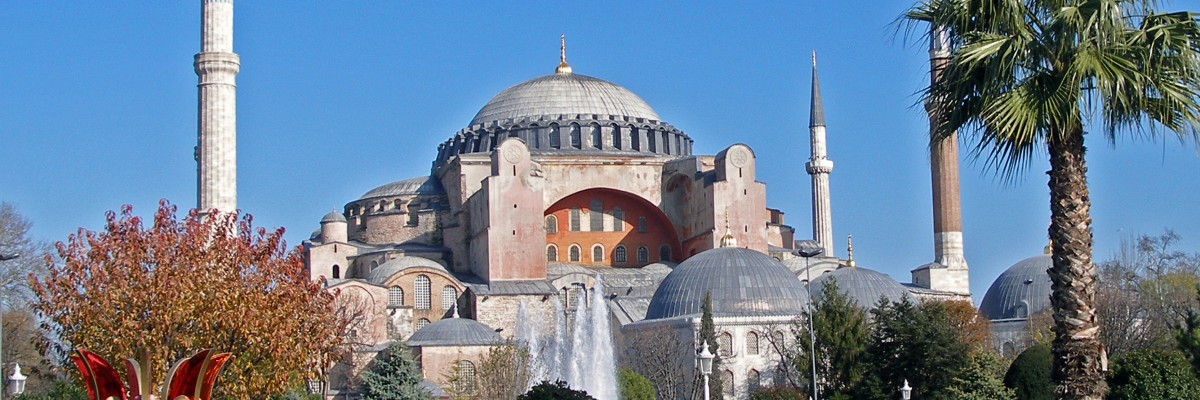 Photo of the Hagia Sophia