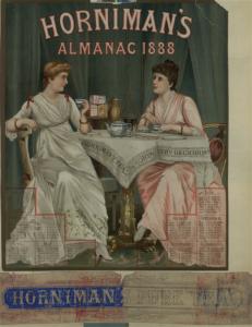 Horniman's almanac, 1888