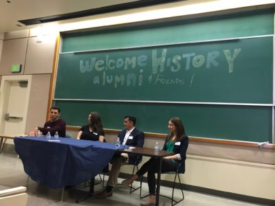 History Celebrates with Alumni at All Gaucho Reunion