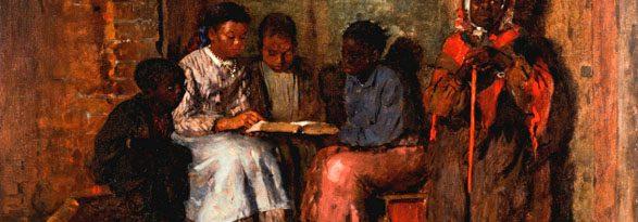Winslow Homer, Sunday Morning in Virginia (1877)