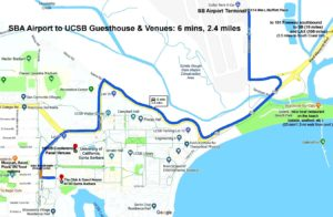 Map SB Airport to UCSB