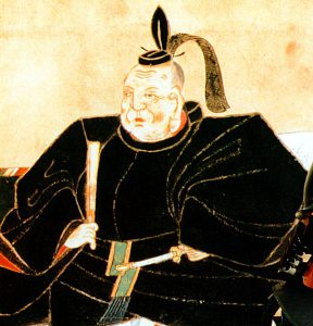 tokugawa-ieyasu illustration from sometime between 1611-23