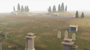 Computer Reconstruction of the Wu Family Cemetery