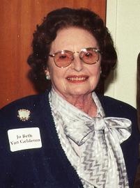 Jo Beth Van Gelderen