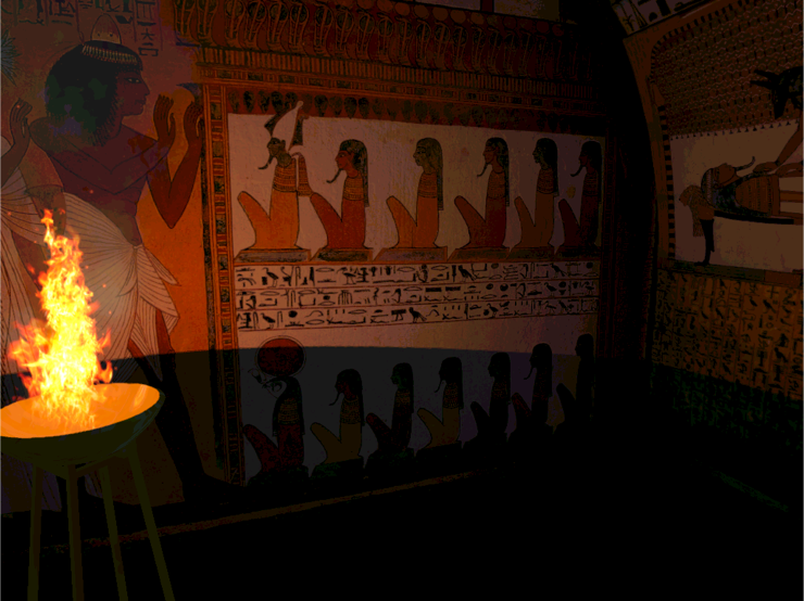 Computer Reconstruction of Theban Tomb no. 1 of Sennedjem